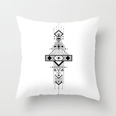 Geometric Device Throw Pillow