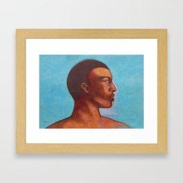 Khalid in Michelangelo mood Framed Art Print