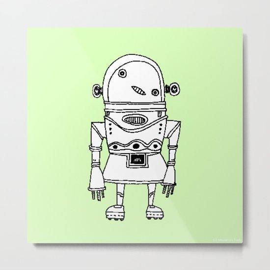 Expensive Robot ( HQ pixel ) Metal Print