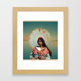 Honor the Indigenous Framed Art Print