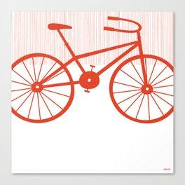 Red Bike by Friztin Canvas Print