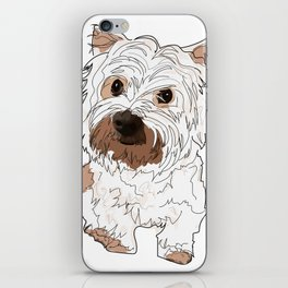 Lolo, West Highland Terrier iPhone Skin
