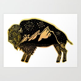 Flatirons Buffalo Art Print