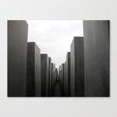 Holocaust Memorial, Berlin #1 Canvas Print