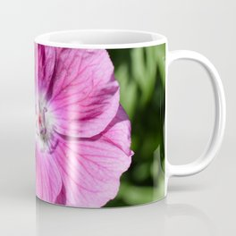 Pink summer flower blossom (Macro Close-Up) Coffee Mug
