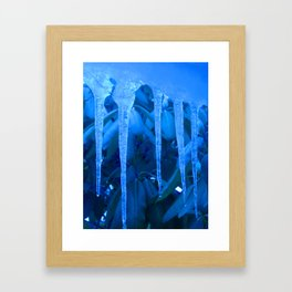 Blue Melody Framed Art Print