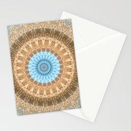 Mandala  autumn leaves Stationery Cards