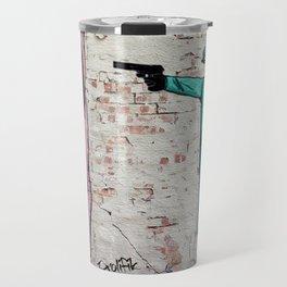 Street Art London Queen Thug Urban Wall Graffiti Artist Prolifik Travel Mug