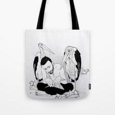 birdmaker print Tote Bag
