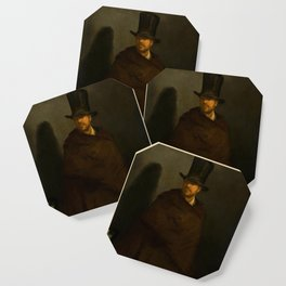 "Édouard Manet ""The Absinthe Drinker"" Coaster"