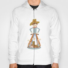Cowboy in a lonely town Hoody