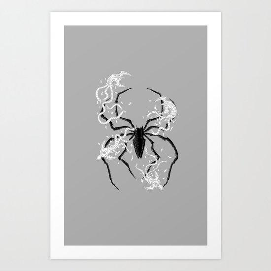 Disintegrate Art Print
