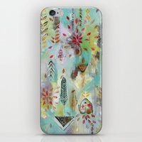 """flora bowley iPhone & iPod Skins featuring """"Liminal Rights"""" Original Painting by Flora Bowley by Flora Bowley"""