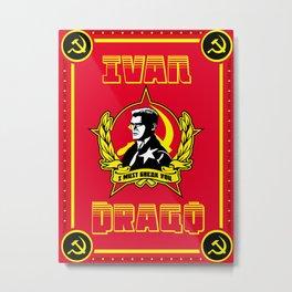 Ivan Drago Metal Print
