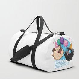 Poopie & Doopie - Happy Poopin' Birthday! Duffle Bag