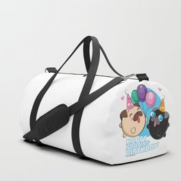 Poopie & Doopie - Happy Poopin' Birthday! Duffle Bag