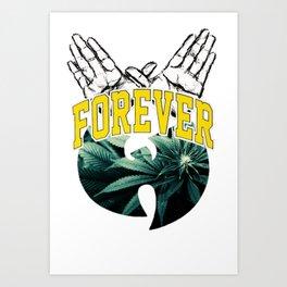 WU FOREVER Art Print