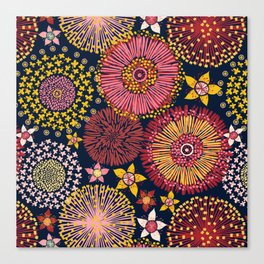 Australian flowers Canvas Print