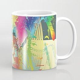 Rainbow Fire Coffee Mug