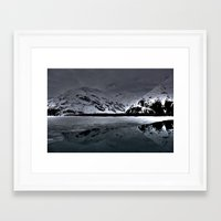 alaska Framed Art Prints featuring Alaska by Chris Root