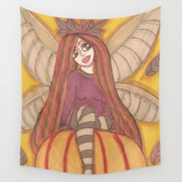 Autumn Fairy Wall Tapestry