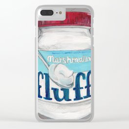 Fluff I Clear iPhone Case