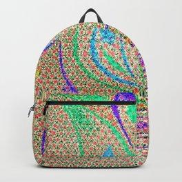 Colorful Lotus flower - uma releitura Backpack