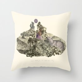 Lima. Bear and maiden. Throw Pillow