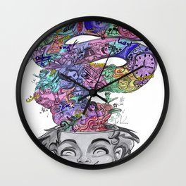 uninstalling my mind  Wall Clock