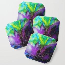 Purple Leaf Coaster
