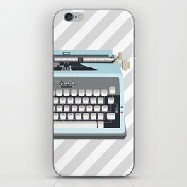 Olympia - Miss Vintage type iPhone Skin