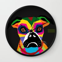 doge Wall Clocks featuring doge by YehudArt