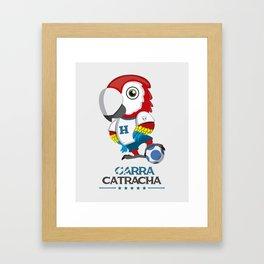 Garra Catracha Framed Art Print