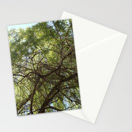 Grünes Paradies im Sommer Stationery Cards