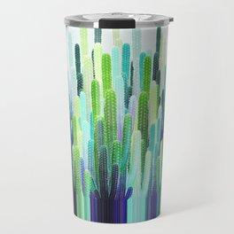 Cacti Stripe Travel Mug