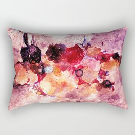 Colorful Minimalist Art / Abstract Painting Rectangular Pillow