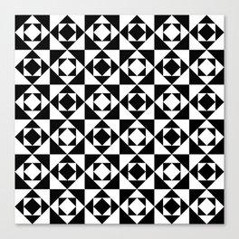 Squares in Squares Canvas Print