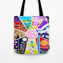 Kirby Canvas Curse Tote Bag