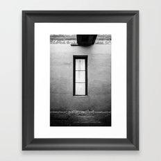 Lonely Window Framed Art Print