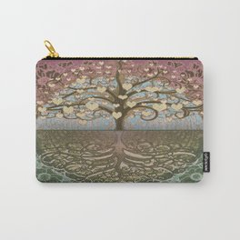 Tree of Life Heart 2 Carry-All Pouch