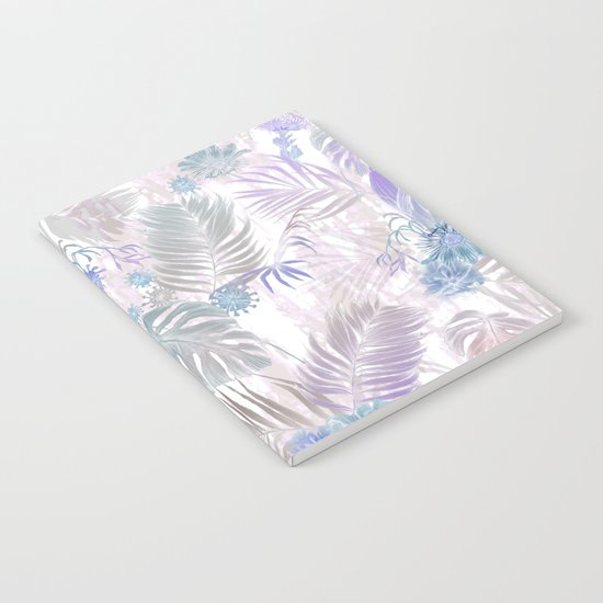 Tropical Iridescence- Pastels  Notebook