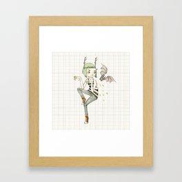 An Honest Puck Framed Art Print