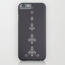 Latvian sign Sun tree iPhone Case