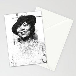 Zora Neale Hurston - Society6 Black Greatness Art - BLM - 01-06-2021 - 77Y66 Stationery Cards