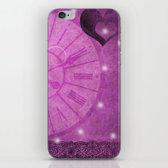 Time is Love iPhone Skin