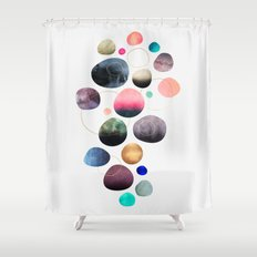 My favorite pebbles Shower Curtain