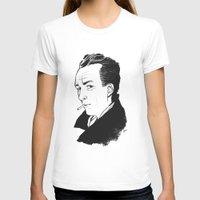 camus T-shirts featuring Camus 1 by reymonstruo