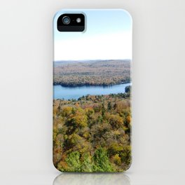 Above The Fall iPhone Case