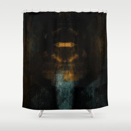 the signal is frail Shower Curtain