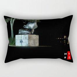 MUBE - Brazilian Sculpture Museum Rectangular Pillow